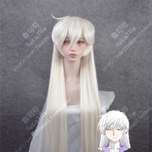 Cardcaptor Sakura: Clear Card Yue Moon White 120cm Straight Cosplay Party Wig