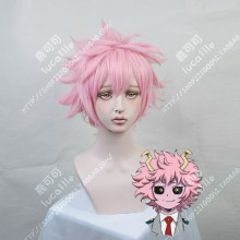 My Hero Academia Mina Ashido Sakura Pink Short Cosplay Party Wig