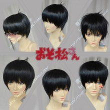 Mr. Osomatsu  Osomatsu Brother Black Short Cosplay Party Wig