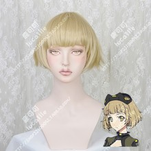 BEATLESS Saturnus Mariage Sand Golden Short Cosplay Party Wig