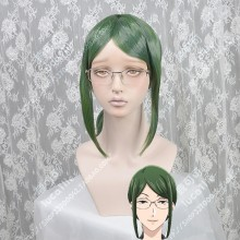 Wotakoi: Love is Hard for Otaku Hanako Koyanagi Chrome Green Mix Parrot Green 45cm Ponytail Style Cosplay Party Wig