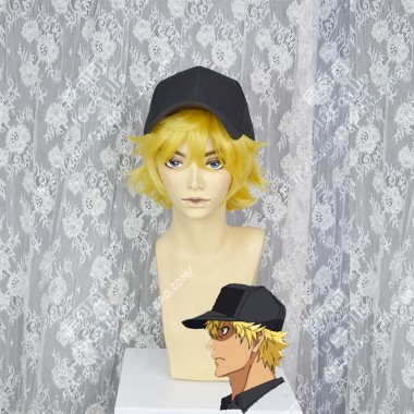 Hataraku Saibou Killer T Cell Topaz Short Cosplay Party Wig