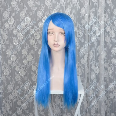 ZYR 60cm Blue Straight Cosplay Party Wig
