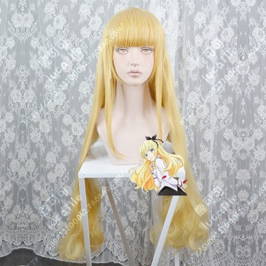 Boarding School Juliet Juliet Percia MixGolden 100cm Curly Cosplay Party Wig