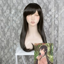 Bloom Into You Touko Nanami Smoke Purple 60cm Straight Cosplay Party Wig