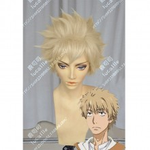 A Certain Magical Index Shiage Hamazura Cream Yellow FullBack Style Short Cosplay Party Wig