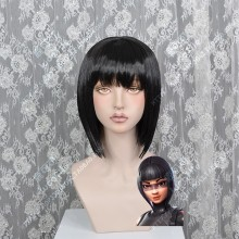 Fortnite ShadowOps Skin Nature Black Short Cosplay Party Wig
