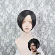 Biohazard / Resident Evil Ada Wong Black Short Cosplay Wig