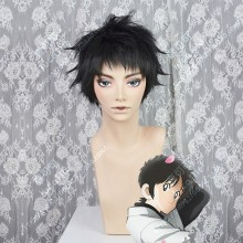MIX Tōma Tachibana Black Short Cosplay Party Wig
