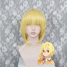 Hitori Bocchi no Marumaru Seikatsu Nako Sunao Golden Short Cosplay Party Wig