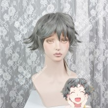 Owarimonogatari Sodachi Oikura Moss Gray Short Cosplay Party Wig