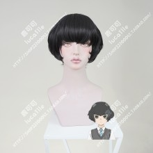 Araburu Kisetsu no Otome-domo yo. Hitoha Hongou Black Short Cosplay Party Wig