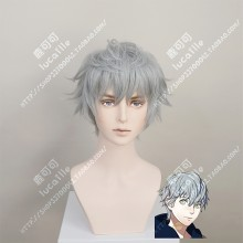 Fire Emblem: ThreeHouses Ashe Gray Short Cosplay Party Wig