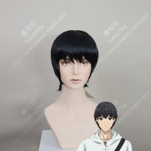 Darwin's Game Kaname Sudou Black Short Cosplay Party Wig