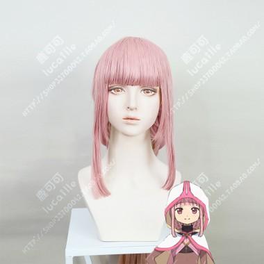 Magia Record: Mahou Shoujo Madoka☆Magica Gaiden Iroha Tamaki Dusky Pink 100cm Barid Style Cosplay Party Wig