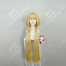 Magia Record: Mahou Shoujo Madoka☆Magica Mitsuki Ferishia Golden 100cm Ponytail Style Cosplay Party Wig