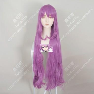 Rikei ga Koi ni Ochita no de Shoumei shitemita Ena Ibarada Dahlia Purple 100cm Wavely   Cosplay Party Wig